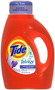 Tide WIth Febreze