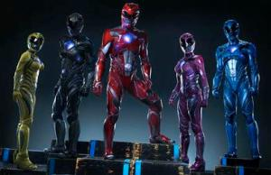 The movie design of the Power Rangers as covered by Entertainment Weekly.